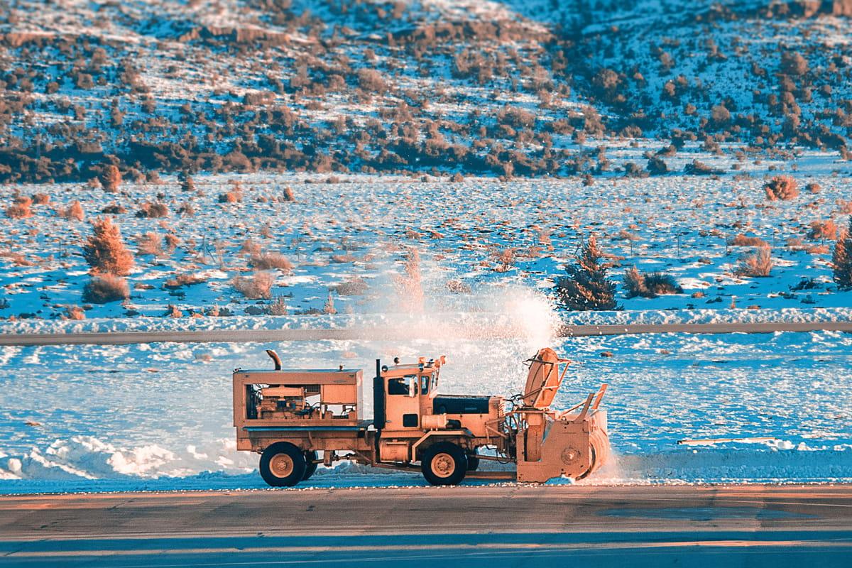 Снегопочистване